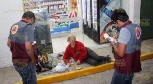 En Redes Sociales Reportan Mujer Extranjera Situación Calle