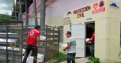FONDEN SPC Envían Apoyos Cerro Azul Afectados Por Calor