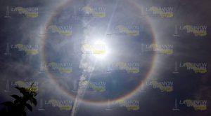 Fenómeno Meteorológico Halo Solar Gutiérrez Zamora