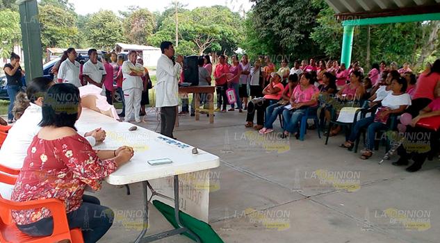 Imparten Charla Mujeres Cerro Azul Prevenir Enfermedades