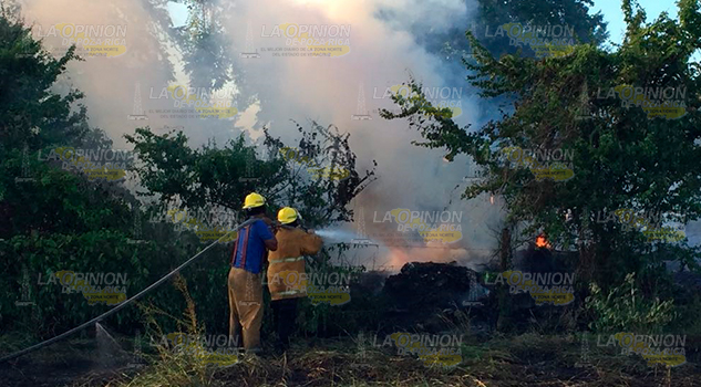 Incendio Álamo Moviliza Cuerpos Emergencia