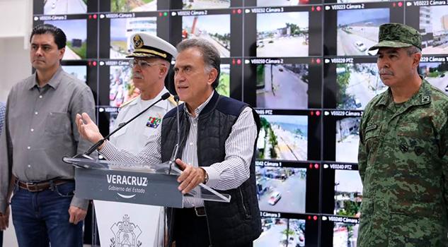 Incidencia delictiva en Veracruz, ha bajado un 16%: SNSP