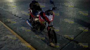 Joven Resulta Herido Caer Motocicleta