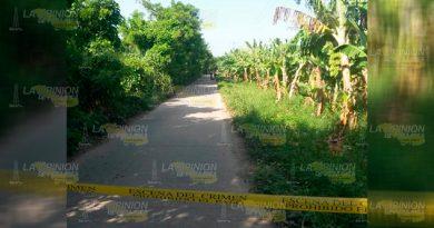 Localizan Ejecutado Rumbo Comunidad El Guayabal