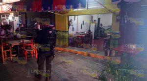 Matan Zamoreño Balazos Centro Tecolutla