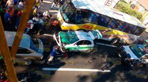 Motociclista Grave En Choque Por Alcance Xalapa