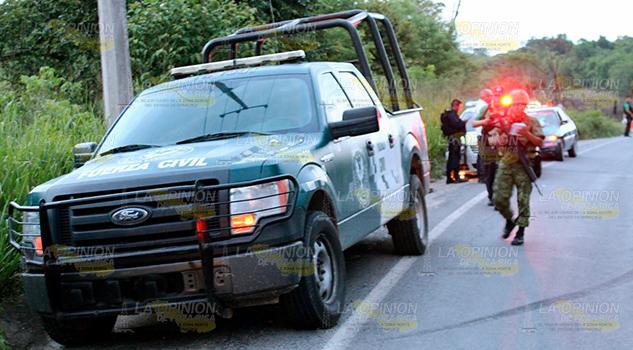 Movilización Sobre Chote Coatzintla Presunto Secuestro