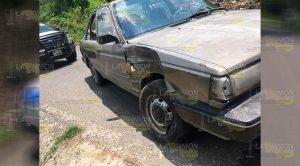 Por Rebasar Taxista Provoca Accidente
