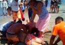 Rescatan a turistas de Tlaxcala en playas de Boca del Río