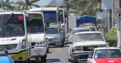 Retirarán 20% Transportistas Tuxpan