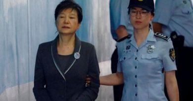 Suben Condena Expresidenta Surcoreana 25 Años Prisión