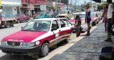 Taxistas Meten Reversa Alza Tarifas Cerro Azul