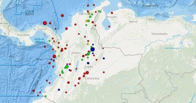 Terremoto Magnitud 5,8 Sacude Colombia