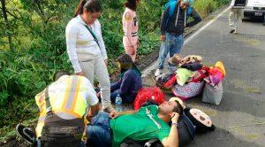 Turistas Poblanos Salen Carretera Tuxpan Tamiahua