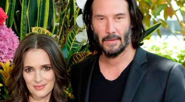 Winona Ryder Keanu Reeves Podrían Estar Casados Esta Prueba