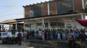 Zafarrancho Asamblea Petroleros Cerro Azul