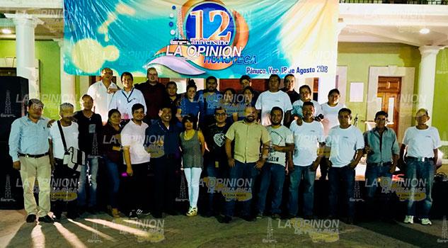 Celebran en Pánuco, cuna del huapango, el 12o aniversario de La Opinión Huasteca.
