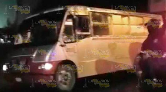 Asaltan Autobús Serrano El Lindero