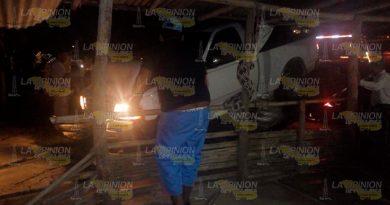 Camioneta Causa Daños Vivienda Tantoyuca