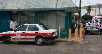 Choque Entre Taxistas Deja Estudiantes Policontundidos