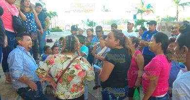Comerciantes de Tuxpan cuidarán su lugar