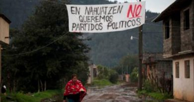Concejo Indígena Invalida Consulta Ciudadana Nahuatzen Michoacán