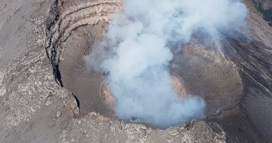 Detectan Domo Lava 50 Metros Cráter Popocatépetl