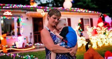 Niño con cáncer terminal recibe increíble sorpresa: la Navidad