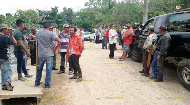 Estalla conflicto en Cañada Rica