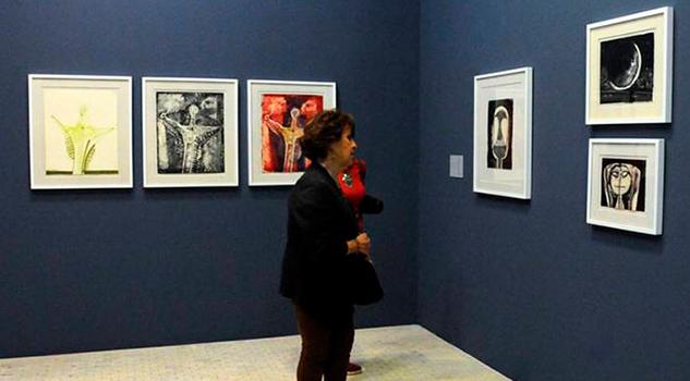 Exhiben Obra Gráfica Rufino Tamayo Realizada 1964