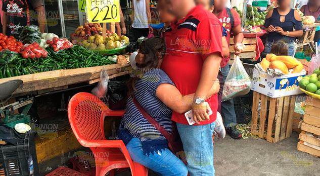 Extorcionan a comerciante en pleno centro de Poza Rica