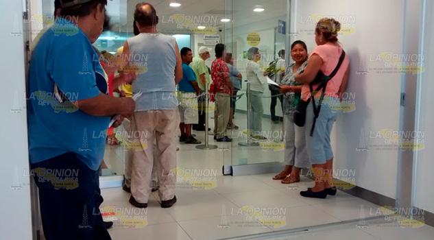Faltan Opciones Bancarias Gutiérrez Zamora