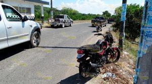 Familia Motocicleta Embestida Sobre Tihuatlán Álamo