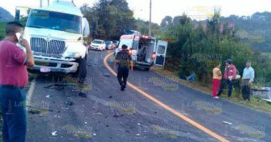 Fuerte Choque Carretera Federal México Tampico