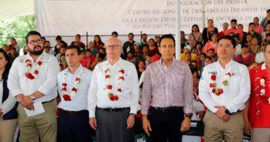 Hidalgo Inaugura Primer Ceredi Indígena País