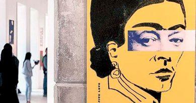 Inauguran Exposición 100 Carteles Frida Kahlo Diego Rivera