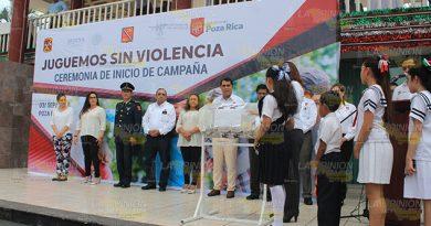 Juguetes Sí Armas No Alcalde Poza Rica