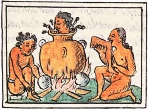 La Antropofagia Canibalismo Mexica