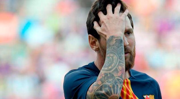 Lionel Messi Sufrió Mayor Devaluación Carrera