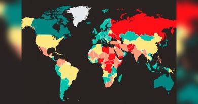 México entre los países con los niveles más bajos de paz