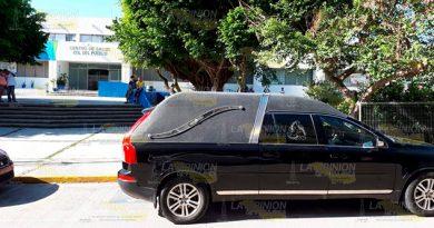 Muere hombre en el Centro de Salud de Tampico