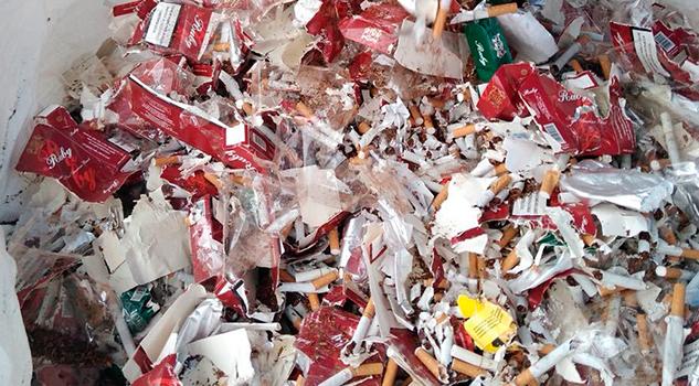 PGR Destruye Millón Cigarros Fayuca Veracruz