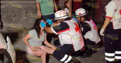 Persona Ciudad México Provoca Fuerte Accidente Tuxpan