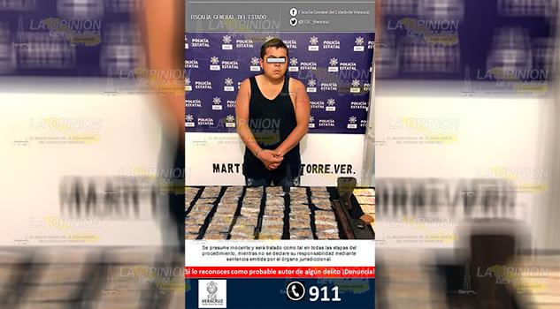 Procede Fiscalía Regional Xalapa Contra Detenido El Bladis