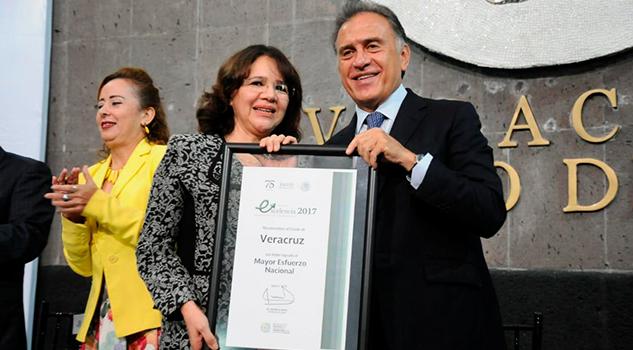 Recibe Veracruz Primer Lugar Máximo Esfuerzo Nivel Nacional Salud