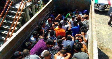 Rescatados Sur México 124 Migrantes