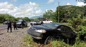 Se Accidenta Mujer Centroamericana Tramo Naranjos Cerro Azul