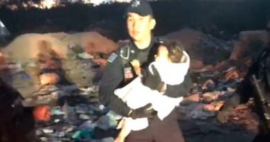 Tras 6 Días Hallan Entre Basura Escombro Bebé Mya Fernanda