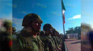 Recuerdan a los Niños Héroes de Chapultepec en Tuxpan