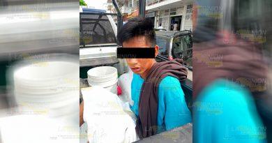 Joven agrede a su propia madre en Tuxpan